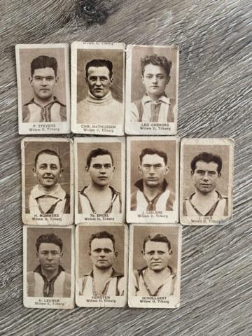 S02E01 - Sigarettenkaartjes Willem II, omstreeks 1925
