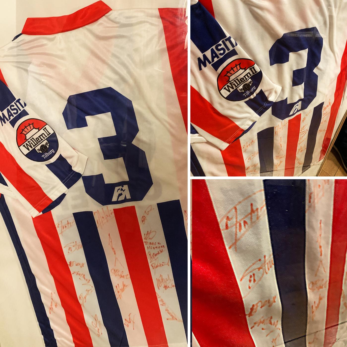 S01E04: Het shirt dat Fons Mallien in 1992 droeg tijdens zijn laatste wedstrijd voor Willem II.